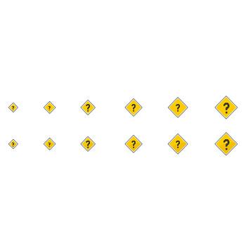 はてなマーク素材1(ひし形) - フリーWEB素材サイト「DOTS DESIGN(ドッツ・デザイン)」