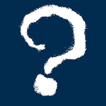 クエスチョンマーク(?)疑問符: 白筆文字フォント無料ツール