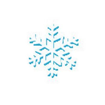 冬・雪の結晶のイラスト-無料イラスト/フリー素材