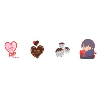 バレンタインのイラスト | かわいいフリー素材が無料のイラストレイン