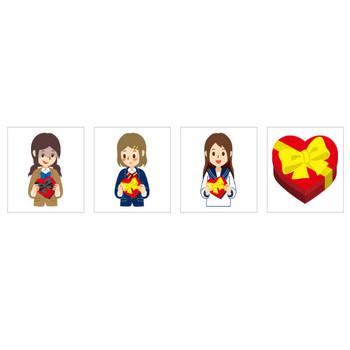 バレンタインデー – 無料で使えるイラスト素材・PowerPointテンプレート配布サイト【素材工場】