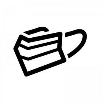 風邪・マスクのシルエット02 | 無料のAi・PNG白黒シルエットイラスト