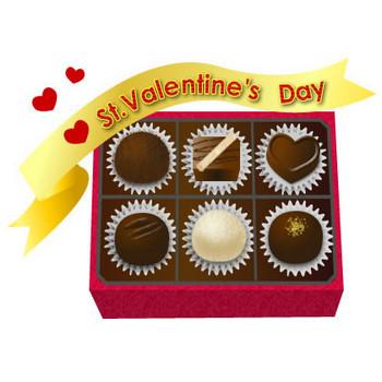バレンタイン-イラスト-チョコ 画像フリー素材|無料素材倶楽部