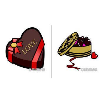 チョコレートのイラスト | 素材屋小秋