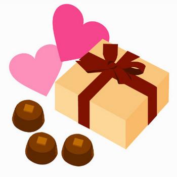 バレンタインのプレゼントのイメージ | イラスト素材パラダイス 商用利用無料のイラスト素材