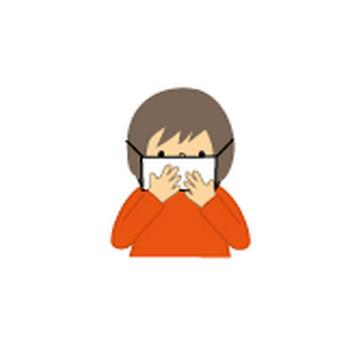マスク・うがい・手洗い(インフルエンザ・花粉症)無料イラスト/フリー素材