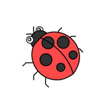 【まとめ】てんとう虫のフリーイラスト素材集|イラストイメージ
