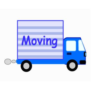 引っ越しトラック | イラスト素材パラダイス 商用利用無料のイラスト素材