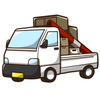 引越トラックのイラスト - 無料イラストのIMT 商用OK、加工OK