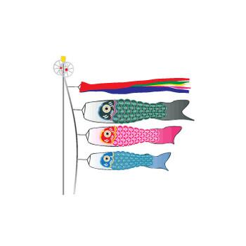 無料|WEB素材|イラスト|子供の日/鯉のぼり1