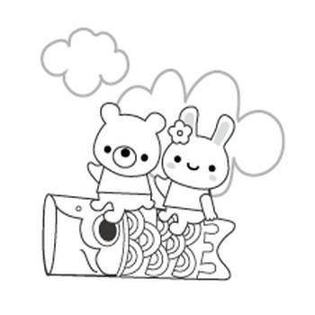 こどもの日のイラスト-無料イラスト