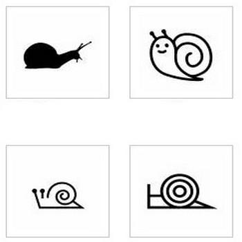 かたつむり|シルエット イラストの無料ダウンロードサイト「シルエットAC」