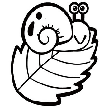 カタツムリのイラスト(2種類) | 保育園・幼稚園のおたよりフリー素材「いらすとびより」