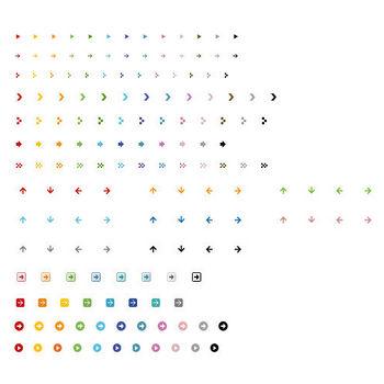 矢印イラスト「アイコン・背景・壁紙」 - 無料のフリー素材