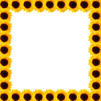 Sunflowers Frame Illustration Free Stock Photo - Public Domain Pictures