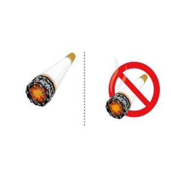 「禁煙」イラスト無料