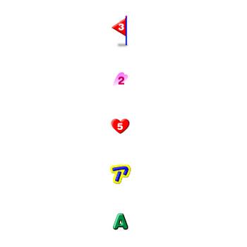 ホームページフリー素材(アルファベット・文字・数字)~School Icons CLUB