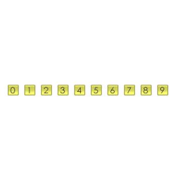 数字・アルファベットアイコン - ホームページ作成素材