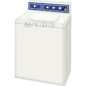 電気洗濯機のイラスト・条件付フリー素材集