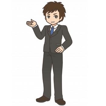 スーツ姿の男性 - 無料イラストのIMT 商用OK、加工OK
