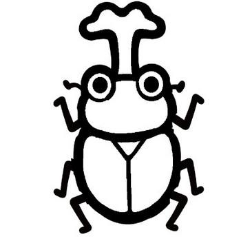 カブトムシのイラスト | 保育園・幼稚園のおたよりフリー素材「いらすとびより」