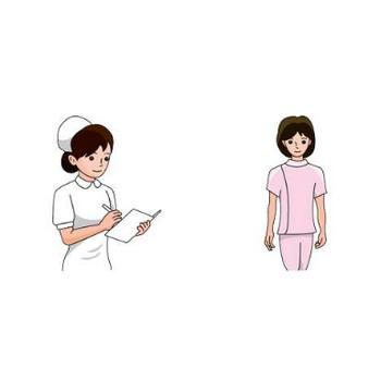 看護師のイラスト-無料ビジネスイラスト素材のビジソザ