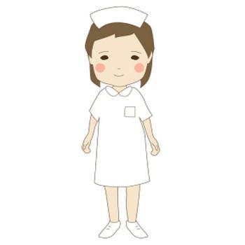 看護婦ナース看護師 フリー素材のイラスト画像集めてみた