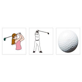 ゴルフ – 無料で使えるイラスト素材・PowerPointテンプレート配布サイト【素材工場】