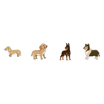 動物素材もイラストポップ | 犬のイラストが無料