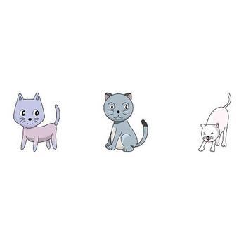 動物素材もイラストポップ | 猫のイラストが無料