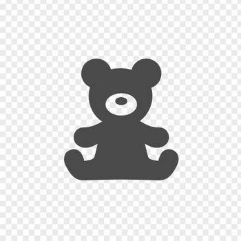クマのぬいぐるみアイコン | アイコン素材ダウンロードサイト「icooon-mono」 | 商用利用可能なアイコン素材が無料(フリー)ダウンロードできるサイト