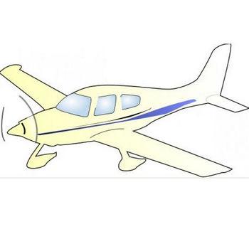 セスナ飛行機クリップアート ベクター クリップ アート - 無料ベクター | 無料素材イラスト・ベクターのフリーデザイナー