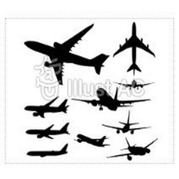 飛行機イラスト/無料イラストなら「イラストAC」