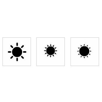 太陽|シルエット イラストの無料ダウンロードサイト「シルエットAC」