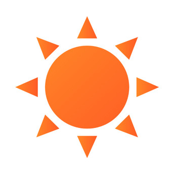 太陽・晴れのイラスト | 無料のフリー素材 イラストエイト