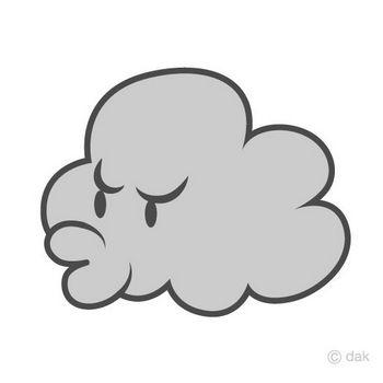 かわいい雲キャラの無料イラスト素材|イラストイメージ