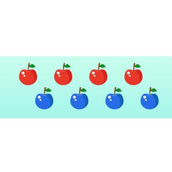 リンゴ/りんごのイラスト素材|商用可能な無料(フリー)のイラスト素材ならストックマテリアル