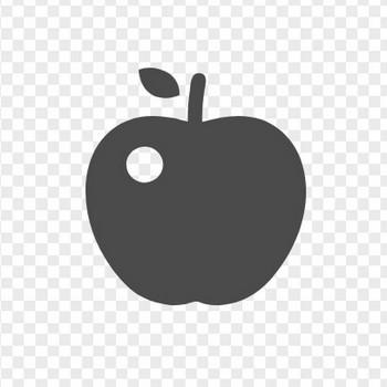 リンゴアイコン6 | アイコン素材ダウンロードサイト「icooon-mono」 | 商用利用可能なアイコン素材が無料(フリー)ダウンロードできるサイト