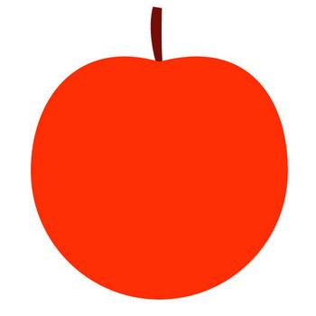 りんご|アップル|クリップアート|無料素材|イラスト|ダウンロード