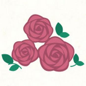 薔薇 | フリーイラスト素材ならぴくらいく|イベント・動物・季節・食べ物