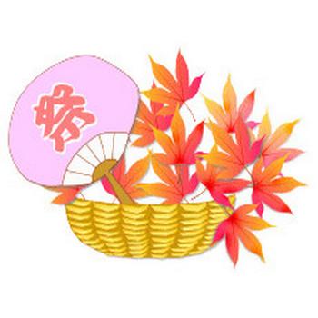イラスト(秋祭り・収穫祭)秋