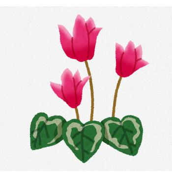 シクラメンのイラスト(花) | かわいいフリー素材集 いらすとや