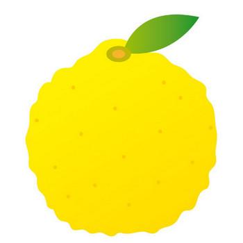 [無料イラスト] 柚子 - パブリックドメインQ:著作権フリー画像素材集