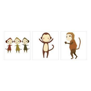 猿 のイラスト<無料>   イラストK