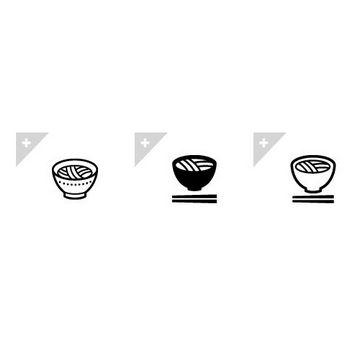 うどん | アイコン素材ダウンロードサイト「icooon-mono」 | 商用利用可能なアイコン素材が無料(フリー)ダウンロードできるサイト