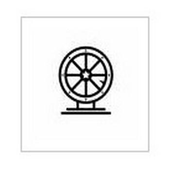宝くじ|シルエット イラストの無料ダウンロードサイト「シルエットAC」