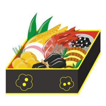 おせち料理 食べ物 無料イラスト | 商用可のイラスト素材Good