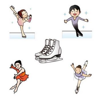 フィギュアスケート - GAHAG | 著作権フリー写真・イラスト素材集
