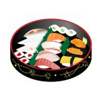 お刺身&お寿司 Archives - フリーイラスト素材 「趣味で作ったイラストを配るサイト」