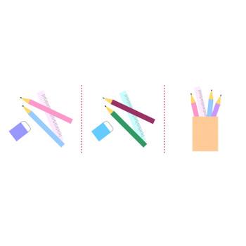 「鉛筆」イラスト無料